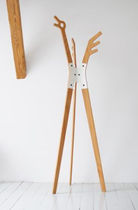 design coat-rack HUTF&Auml;NGER by Nachacht Berlin  Artificial j&Atilde;&frac14;rgen j. burk