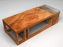 design coffee table in certified wood (FSC-certified) METRIC SIDD
