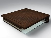 design coffee table in certified wood (FSC-certified) INTERRUPT SIDD