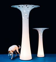design corian® floor lamp (sculpture) REEF by Anki Gneib Aspeqt Sweden AB