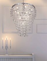 design crystal chandelier SIRIUS by Maria Grazia Rosin GAMMADELTAGROUP