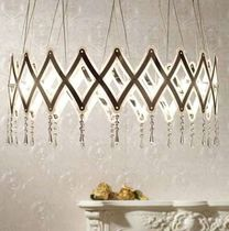 design crystal chandelier ZOOM CRYSTAL Serien