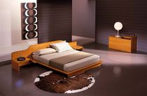 design double bed with integrated bed-side table ICARO Corazzin Group - Contract & hotel