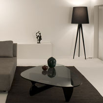 design fabric floor lamp (tripod) TRIANA by O. Canalda &amp; R. &Uacute;beda METALARTE