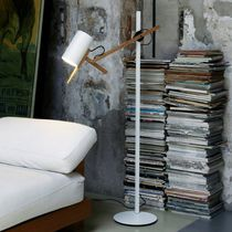 design fabric floor lamp (adjustable) SCANTLING by Mathias Hahn Marset Iluminacion