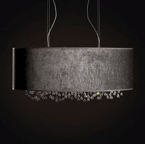 design fabric pendant lamp VELVET by by Filipe Lisboa VISO Lighting