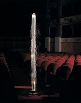 design fiber optic floor lamp BERENICE by Roberto Fallani MIRABILI Arte d'Abitare