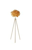 design floor lamp in certified wood (Eco-label FSC) FLOCK Tom Raffield