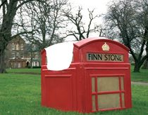 design garden armchair PHONEBOOTH Finn Stone