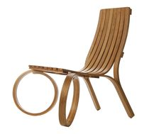 design garden chair in certified wood (FSC-certified) LOOP Tom Raffield