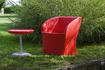 design garden chair with armrests SUNRISE by Fabio Di Bartolomei TONON