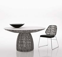 design garden round table CRINOLINE by Patricia Urquiola B&amp;B Italia