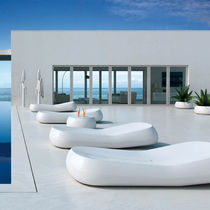 design garden sun lounger GUMBALL  by Alberto Brogliato PLUSt COLLECTION by EURO 3 PLAST
