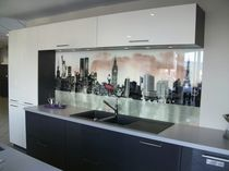 design glass kitchen COLORA IMAGE Miroiterie RIGHETTI