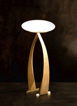 design glass table lamp STAND UP (TABLE) Wood & Light by Omar Sherzad