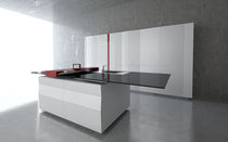 design lacquer kitchen (with island) PRISMA by Experientia TONCELLI