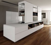 design lacquer kitchen PRIMA AV  by Paolo Nava &amp; Fabio Casiraghi BINOVA S.p.A.