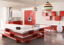 design lacquer kitchen CRONOS Corazzin Group - Contract & hotel