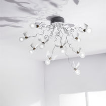 design metal ceiling lamp BIRDIE'S NEST INGO MAURER