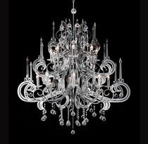 design metal chandelier Gabarra 6220 Illuminati Lighting srl