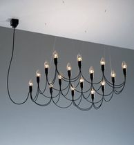design metal chandelier LIGHTNESS by Henk Stallinga  STENG