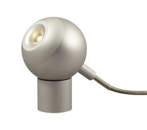 design metal table lamp COMETE SILVER PM by N. Daul & J. Demanche FORESTIER