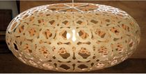 design pendant lamp in bamboo OROTON David Trubridge Design