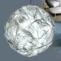 design pendant lamp in recycled material YUKI Les Fourmis Bleues