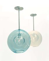 design pendant lamp (blown glass, handmade) HELIOS jGoodDesign