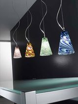 design pendant lamp (blown glass, handmade) ONDA Classic Light