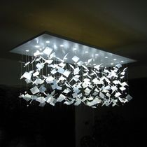 design pendant lamp (LED) DIAPHANE OMBRE PORTÉE