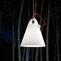design pendant lamp (polyethylene, white) TRILLY cod.2073/ by Emiliana Martinelli , 2011  Martinelli Luce Spa