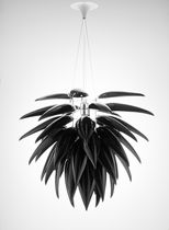 design pendant lamp (porcelain) ALOE NOIR BLOSSOM by Jeremy Cole Jeremy Cole