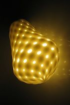 design polyamide pendant lamp MYLIGHT by Lars Spuybroek .MGX by Materialise