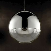 design polycarbonate pendant lamp BOLIO by Filipe Lisboa VISO Lighting