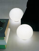 design polycarbonate table lamp FLOW T4 by D. Donegani & G. LaudaLauda  Rotaliana