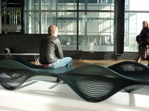 design public bench in metal MUSCLE by  Outdoorz Gallery