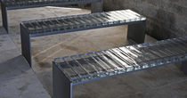design public bench in metal WILMOTTE SARRAGALA