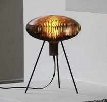 design resin table lamp RUSSULA by Arik Levy .MGX by Materialise