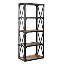 design shelf: industrial style WOODRUST RACK metafor-design.com