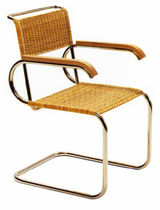 design sled base chair by Marcel Breuer (Bauhaus) D 40 Tecta