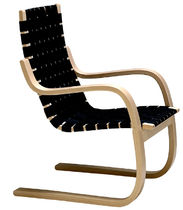 design sled base chair by Alvar Aalto (scandinavian) 406 Artek