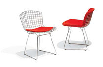 design sled base chair by Harry Bertoia BERTOIA SIDE CHAIR Knoll international
