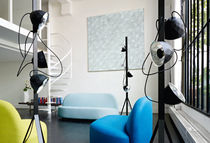design steel floor lamp TREPIED by Normal Studio  Ligne Roset France