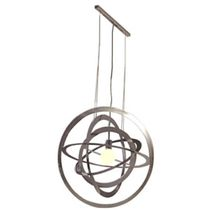 design steel pendant lamp SATURN: L 60 by Josef Albers Tecta