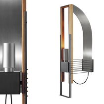 design steel wall light MARX cod.1285 by Richard Neutra , 1928 Martinelli Luce Spa