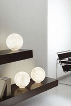 design stone table lamp T.MOON 1/2 in-es artdesign