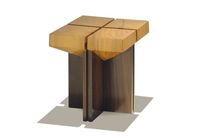 design stool in reclaimed wood + STOOL - SEAT IN PEROBA   Rotsen Furniture