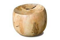 design stool in reclaimed wood TROY  Rotsen Furniture