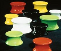 design stool by Eero Aarnio (pop art) MUSHROOM ADELTA